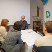 """/Sudionici radionice daju svoje mišljenje na temu """"Plana za usmjeravanje posjetitelja rijeke Drave""""."""