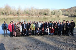 Sudionici su posjetili i rijeku Dravu / Participants visit the Drava River © Mirko Lukavski / Povijesno društvo Koprivnica