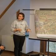 Branka Španiček iz WWF Adrije prezentira rezultate jedne grupne radionice
