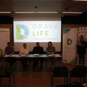DRAVA LIFE press conference/Konferencija za medije